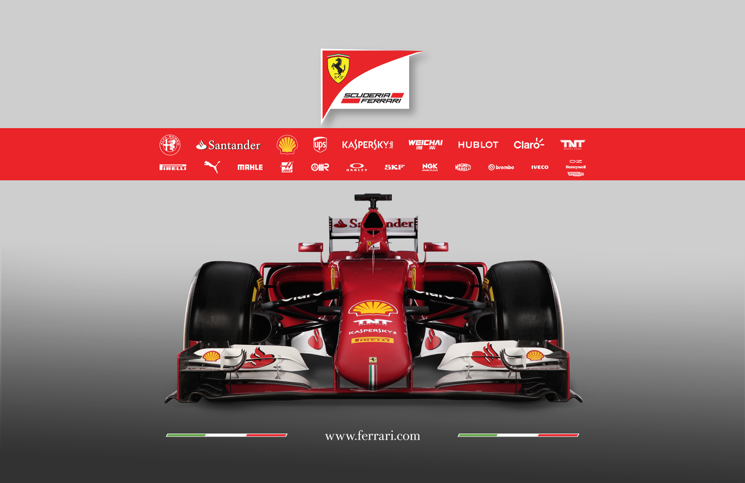 2015 Ferrari SF15-T nose