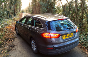 2015 Ford Mondeo Estate Econetic TDCI Zetec rear
