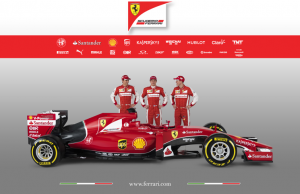 Ferrari SF15-T profile