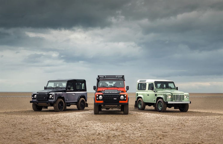 Land Rover Defender final edition