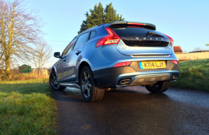 Volvo V40 Cross Country D4 rear