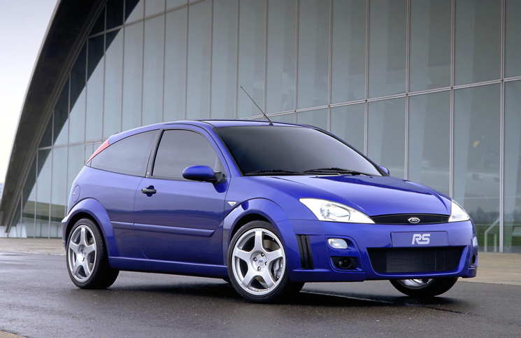 2002 Ford Focus RS front