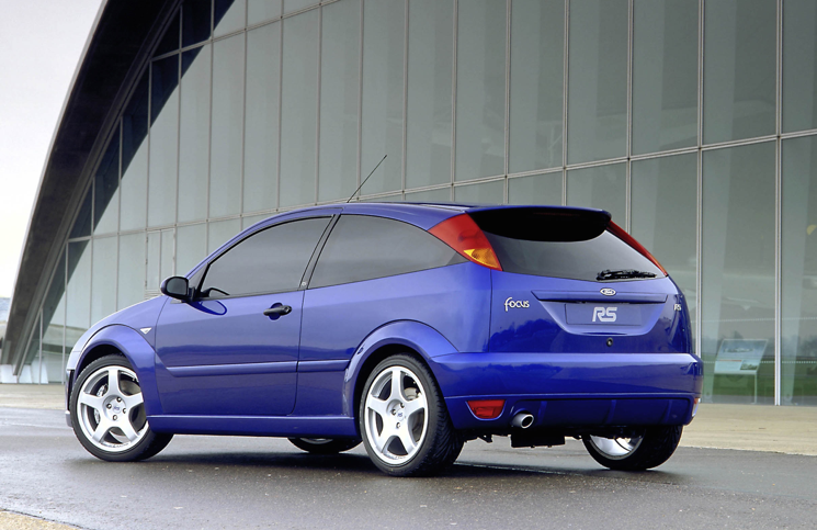 2002 Ford Focus RS rear