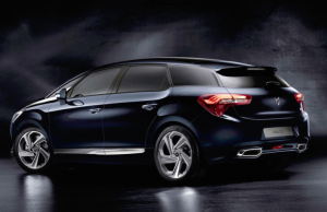 2015 Citroen DS5 rear