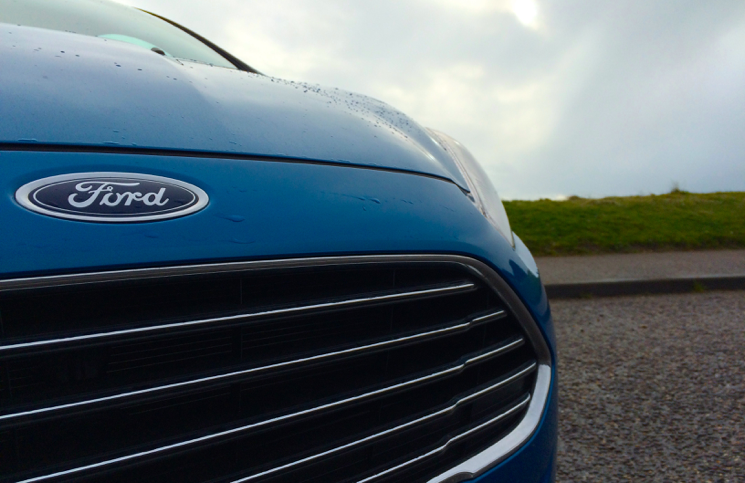 2015 Ford Fiesta 1.0 EcoBoost Zetec grill