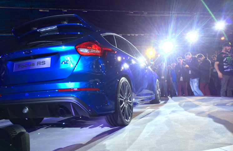 2015 Ford Focus RS rear