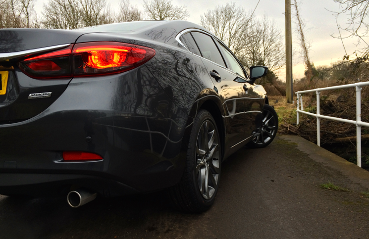 2015 Mazda 6 165ps Saloon Sport Nav rear