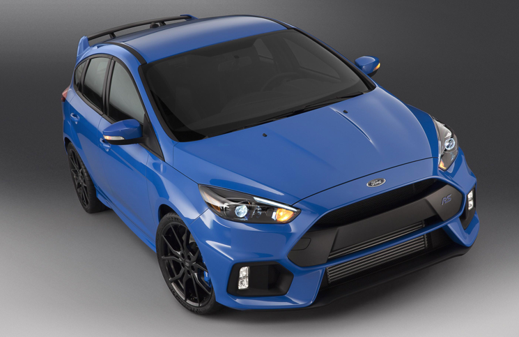 2015 Ford Focus RS Nitrous Blue