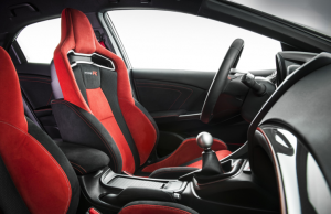 2015 Honda Civic Type-R inside
