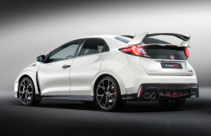 2015 Honda Civic Type-R rear