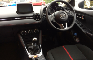 2015 Mazda 2 90ps Sport Nav inside