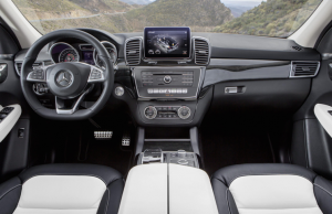 2015 Mercedes-Benz GLE inside