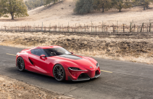 Toyota FT-1 concept red