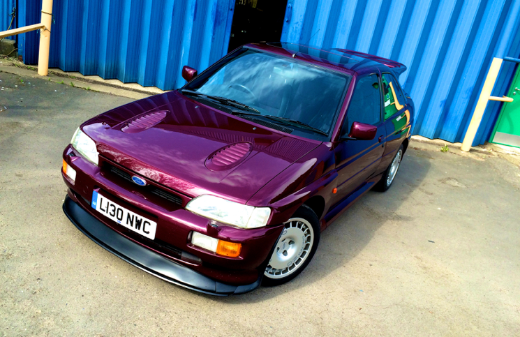 1994 Ford Escort RS Cosworth Monte Carlo front