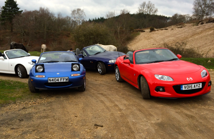 MX-5 group New Forest