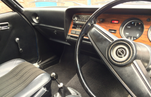 1977 Ford Capri 1600L inside