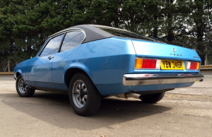 1977 Ford Capri 1600L rear