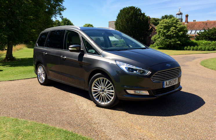 2015 Ford Galaxy front