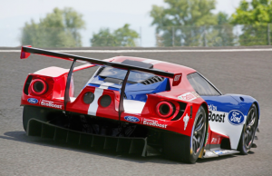 2016 Ford GT Le Mans rear