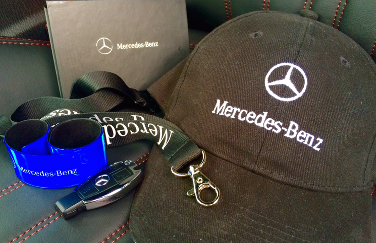 Inside Lane Mercedes-Benz prize bundle
