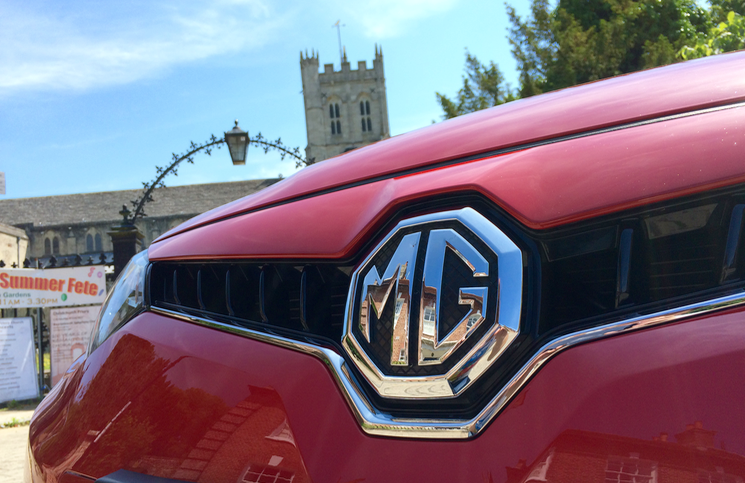 2015 MG6 TL badge