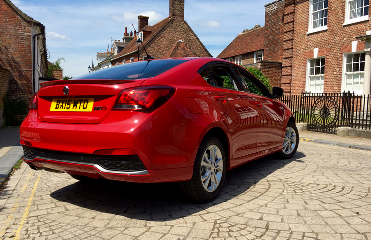 2015 MG6 TL rear