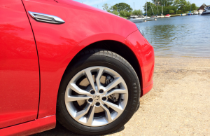 2015 MG6 TL wheel