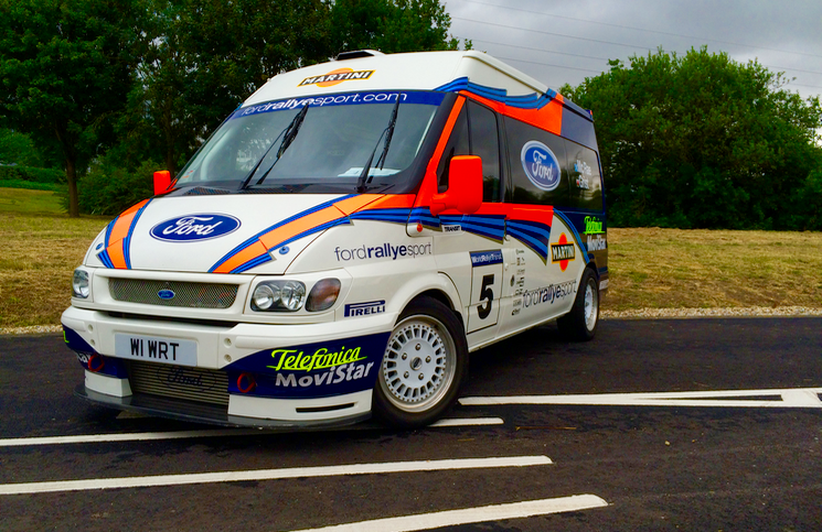 Ford Transit World Rally front