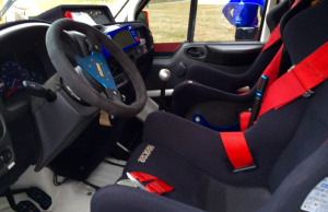 Ford Transit World Rally inside
