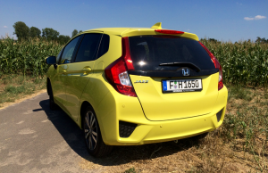 2015 Honda Jazz rear