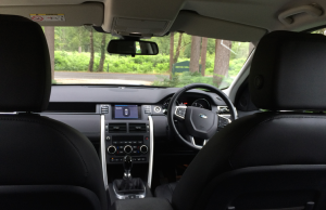 2015 Land Rover Discovery Sport inside