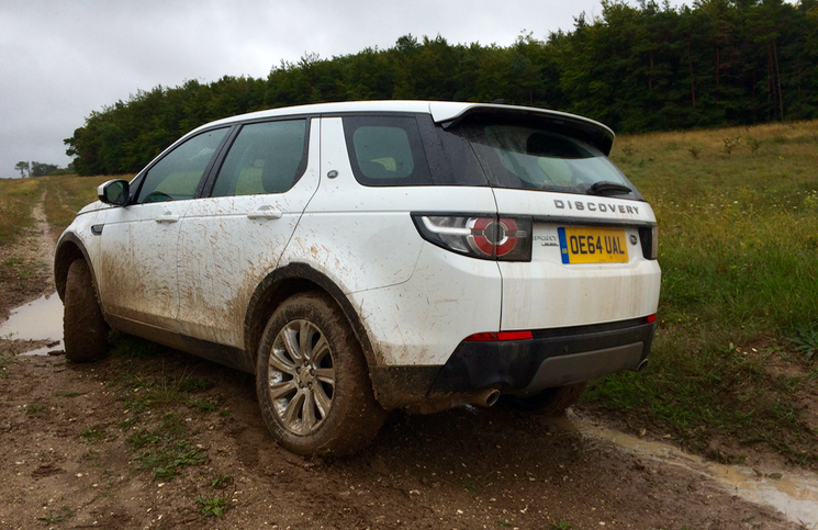 2015 Land Rover Discovery Sport mud