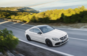 2017 Mercedes-AMG C 63 Coupe front