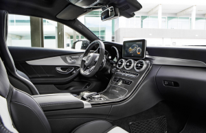 2017 Mercedes-AMG C 63 Coupe inside