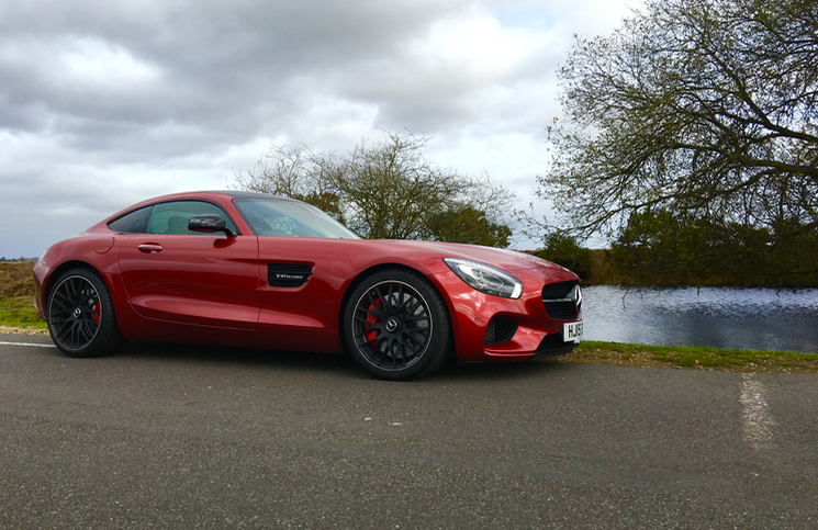 2015 Mercedes-AMG GT S profile