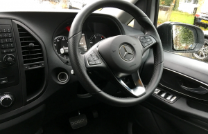 Mercedes-Benz Vito Tourer steering wheel