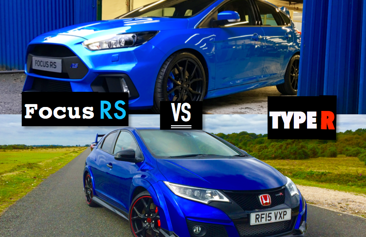 2016 Ford Focus RS VS 2016 Honda Civic Type R