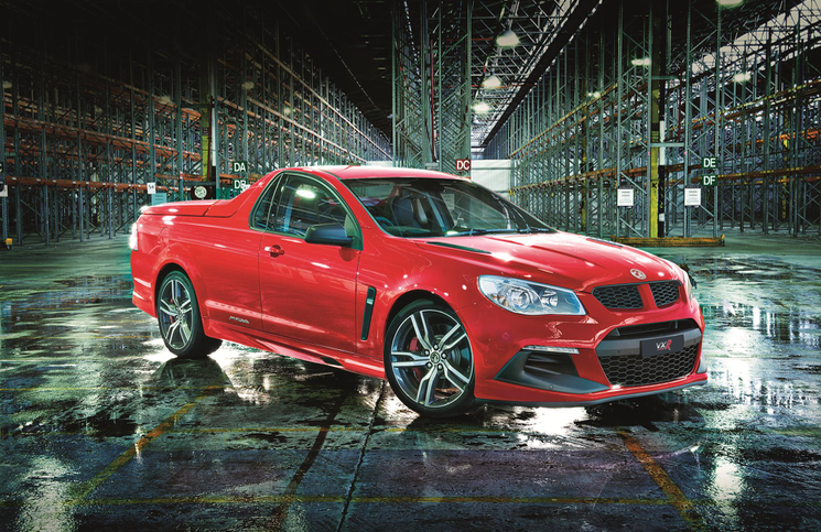 Vauxhall Maloo Front