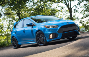 2016 Ford Focus RS Nitrous Blue front