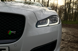 2016 Jaguar XJR lights