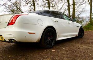 2016 Jaguar XJR rear