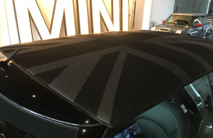 2016 Mini Convertible roof