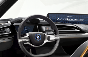BMW i Vision Future Interaction inside