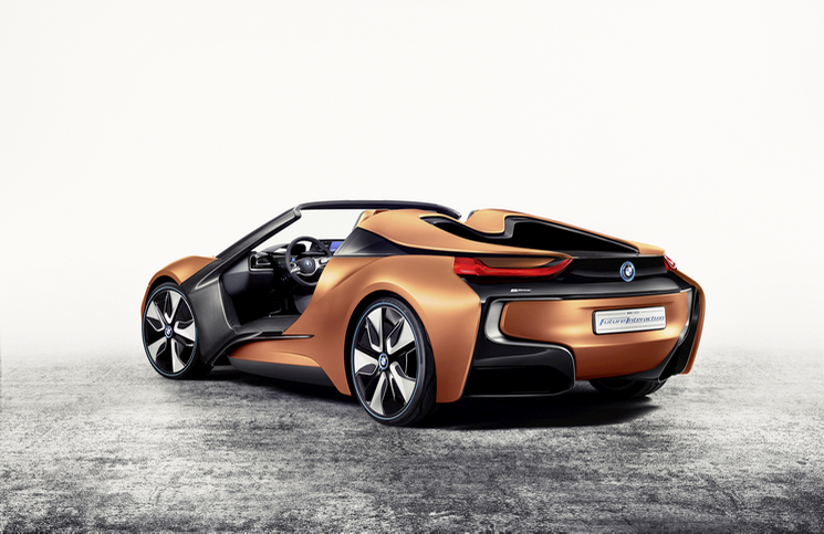 BMW i Vision Future Interaction rear