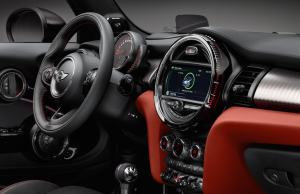 Mini JCW Convertible Interior
