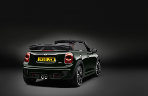 Mini JCW Convertible Rear
