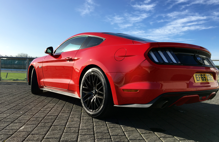 2016 Ford Mustang rear