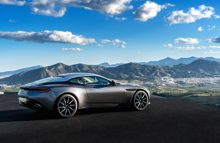 2016 Aston Martin DB11 rear