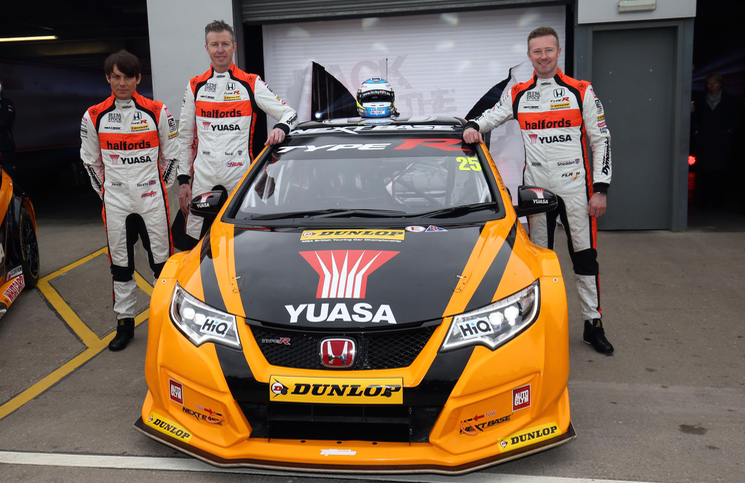 2016 BTCC Type R Halfords
