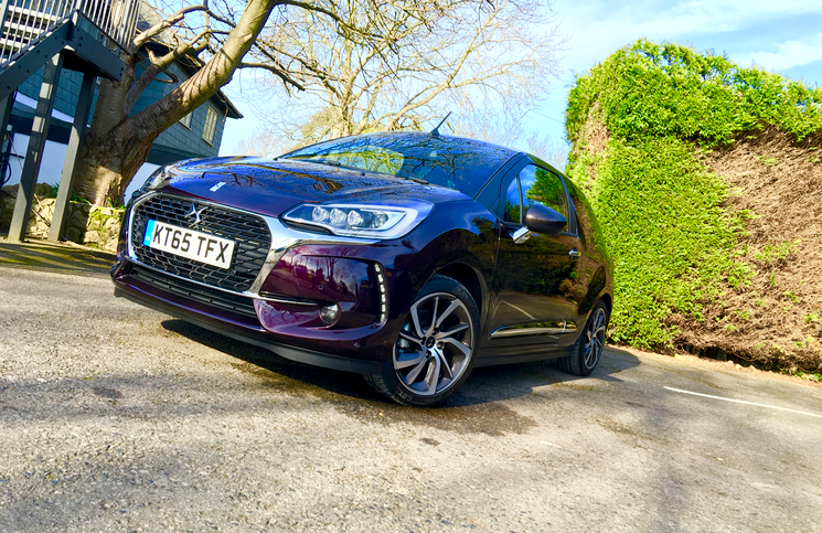 2016 DS 3 Cabrio front